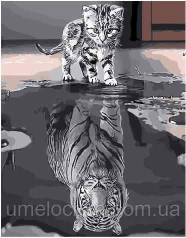Картина по номерам Душа тигра 40 х 50 см (BRM25713)