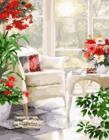 Картина по номерам Белая терасса 40 х 50 см (BRM25509)