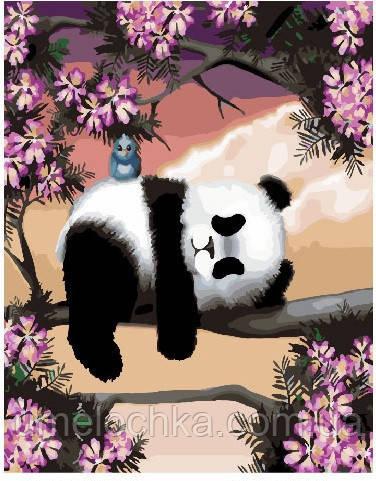 Картина по номерам Сонная панда 40 х 50 см (BRM25499)