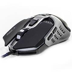 ➨ Миша iMICE V5 Black провідна ігрова дозвіл сенсора 3200 DPI, 7 кнопок лазерна світлодіодна