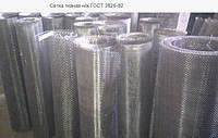 Сетка тканая нержавеющая 12Х18Н10Т 0,25-0,16 100 см