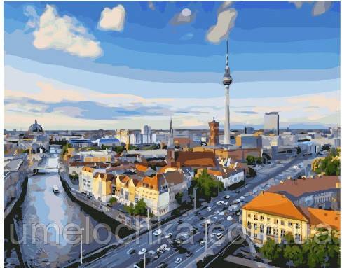 Картина по номерам Вид на Берлин 40 х 50 см (BRM25482)