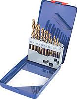 Набор сверл по металлу (Р6М5) Miol 22-300