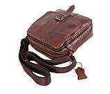 Мужская кожаная сумка Dovhani BR5296-112 Коричневая, фото 4