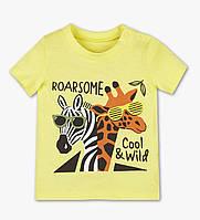 Желтая футболка с принтом для мальчика, C&A, 2050185