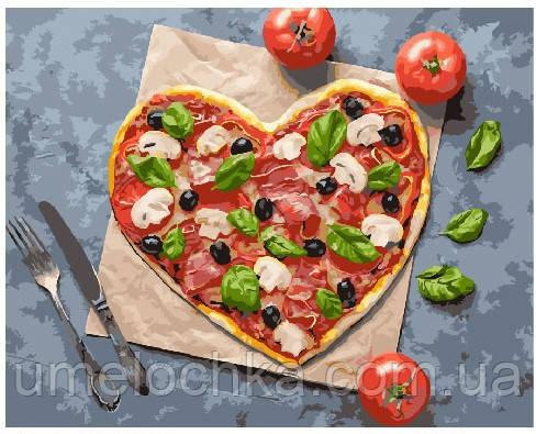 Картина по номерам Пицца с любовью 40 х 50 см (BRM25012)
