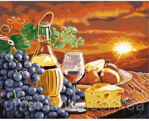 Картина по номерам Ужин на закате 40 х 50 см (BRM24251)