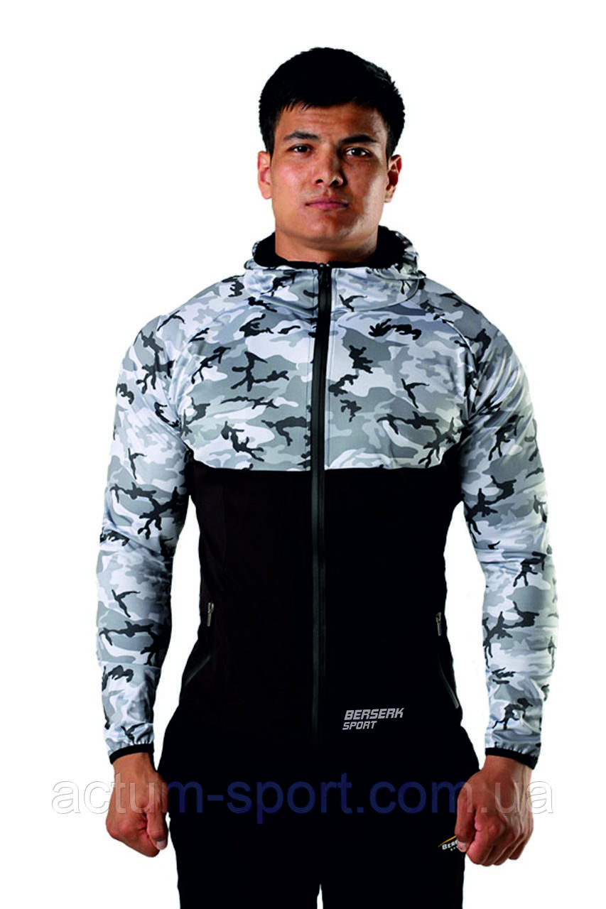 Худи BERSERK EVOLUTION FIT  camo/black XL