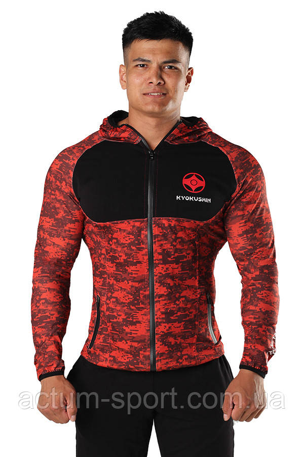 Худи BERSERK EVOLUTION Kyokushin red S
