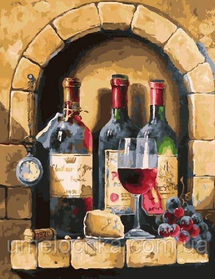 Картина по номерам Старинное вино 40 х 50 см (BRM24674)