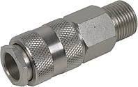 """Соединение быстросъемное с клапаном 1/4"""" Miol 81-230"""