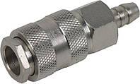 Соединение быстросъемное с клапаном под шланг 10 мм Miol 81-239