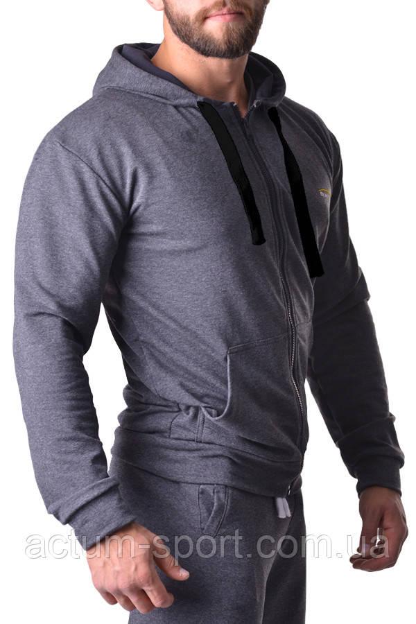 Толстовка на молнии с капюшоном BERSERK PRAGMATIC dark grey XXL