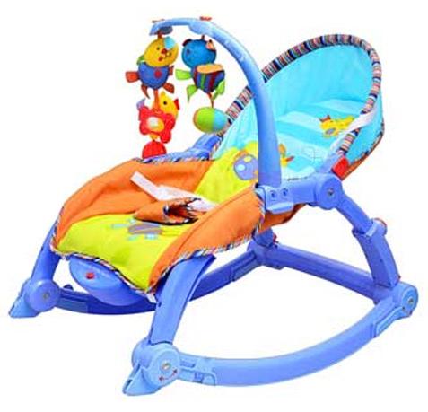 Музыкальное кресло-качалка интерактивное 7179 joy toy