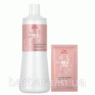 Набор для 1 смывки краски (Активатор 90 г+1 пакетик 9г) Rеnew Colour Reducer Wella Professionals