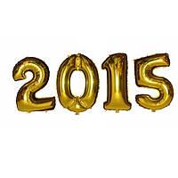 Фольгированный шар цифры 2015. Фольгированные шары оптом., фото 1