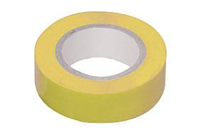 Изолента ПВХ Technics желтая 19 мм х 10 м (10-707)
