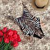 Женский сдельный купальник в тигровой расцветке, фото 2