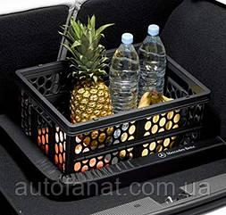 Оригинальная корзина для покупок Mercedes Shopping Crate Grey 2019 (A20384000209B51)
