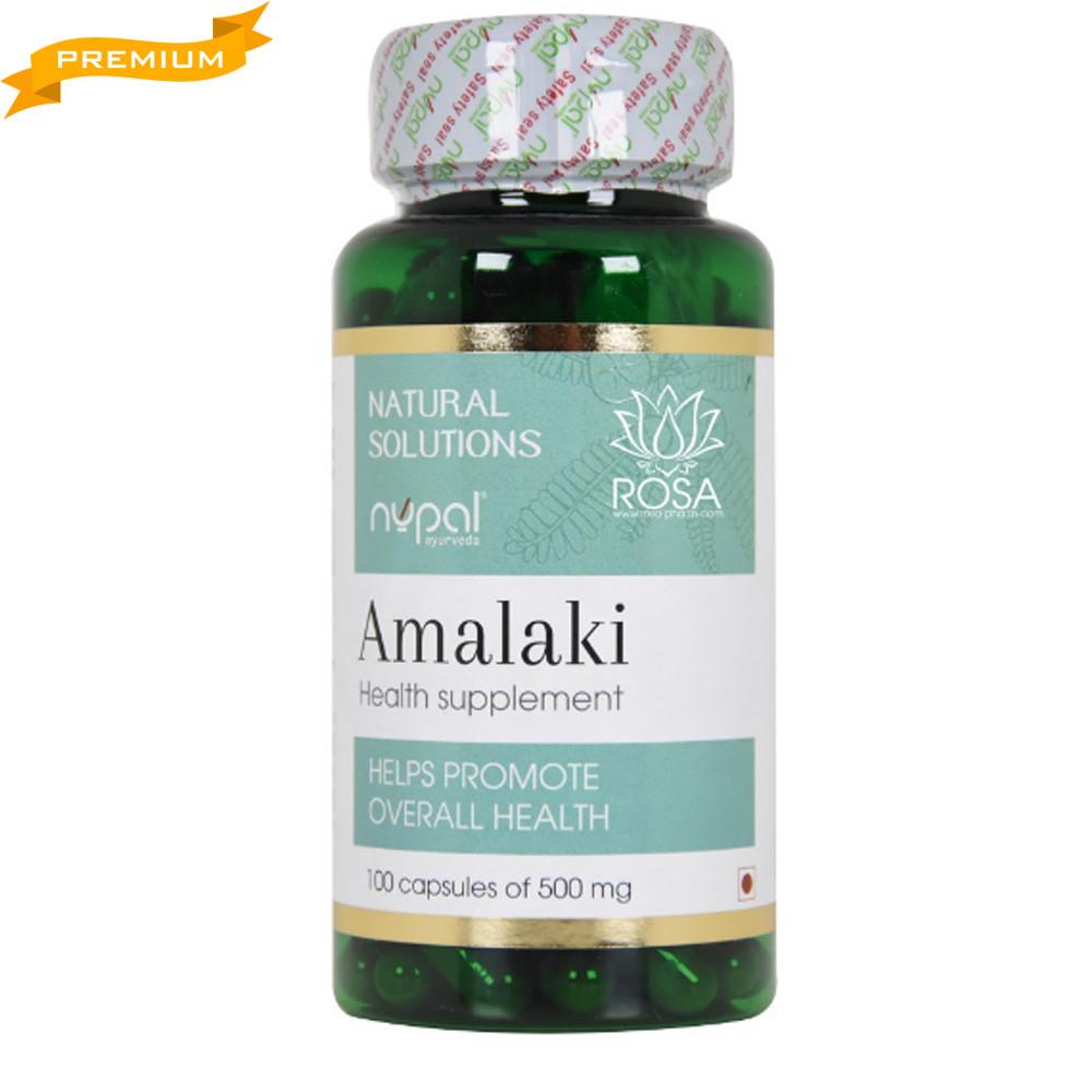 Капсулы Амалаки Nupal Remedies, 100 штук