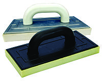 Терка пластиковая 130*270 поролоновое покрытие 24мм белая MasterTool 08-1324