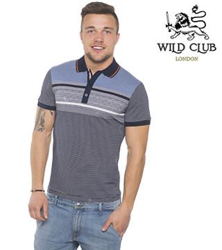 Тенниска мужская Wild Club 15101