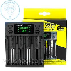 LiitoKala Lii-S4 зарядное устройство для 4х аккумуляторов