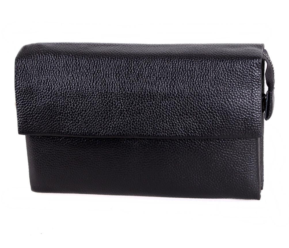 Клатч мужской кожаный Dovhani BLACK004-36 Черный