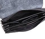 Клатч мужской кожаный Dovhani BLACK004-36 Черный, фото 6