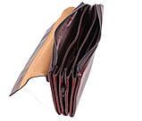 Клатч мужской кожаный Dovhani COFFEE004-447 Бордовый, фото 6