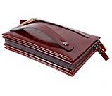 Клатч мужской кожаный Dovhani COFFEE005-433 Бордовый, фото 3