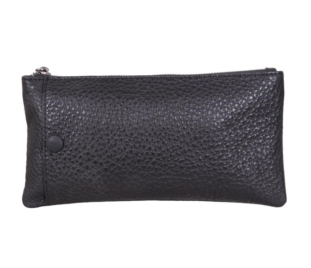 Клатч мужской кожаный Dovhani LA8015-3BL3 Черный