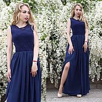 Роскошное платье в пол с вырезом, фото 1