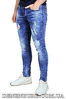 Джинсы мужские FIZZE F288 синие, фото 1