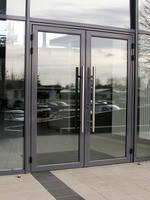 Входные алюминиевые двери W62, фото 3