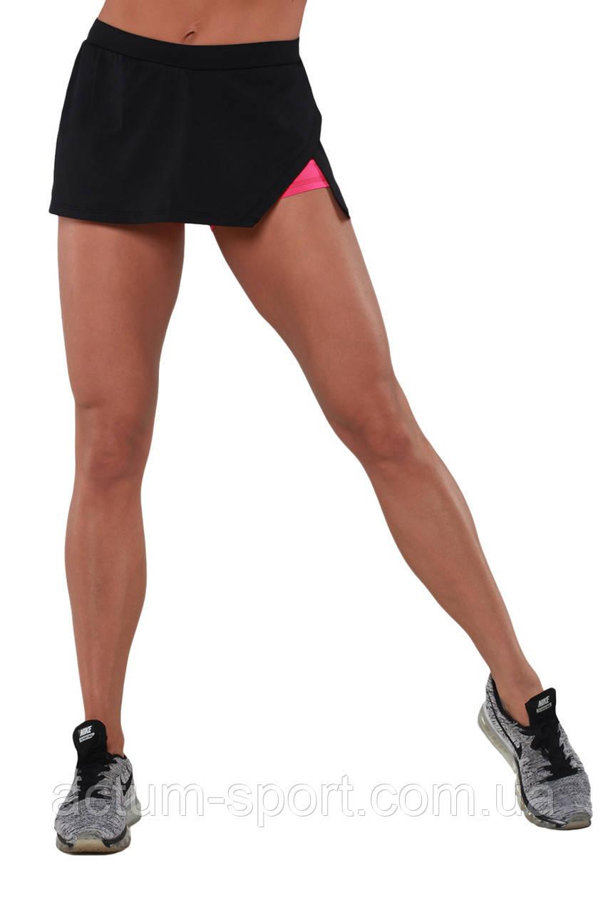 Шорты юбка для тренировок BERSERK AMAZON black/pink S