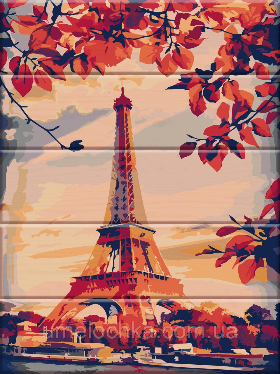 Картина по номерам Париж 30 х 40 см (ASW023)