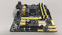 Материнская плата ASUS Z87M-Plus (s1150, Intel Z87, 1 x PCI-Ex16)     Без планки., фото 2