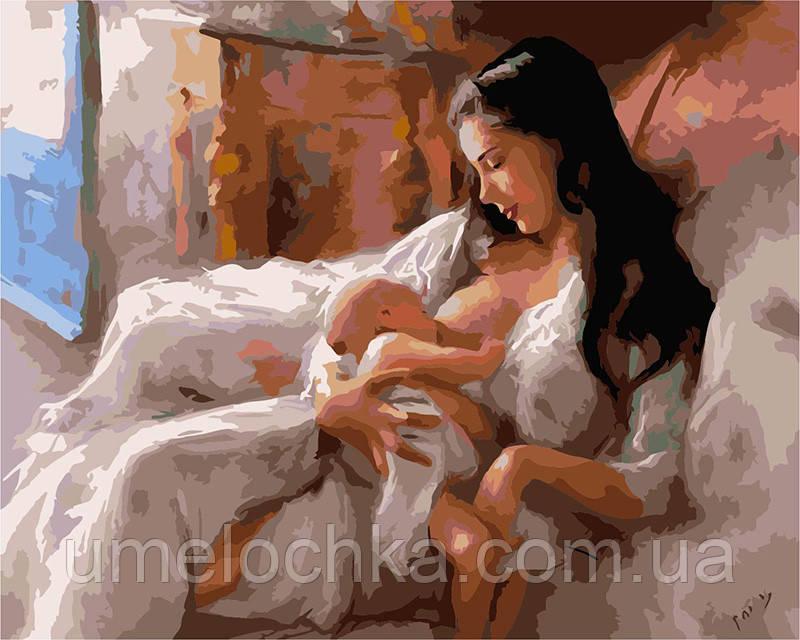 Картина по номерам Святость материнства 40 х 50 см (BRM6402)
