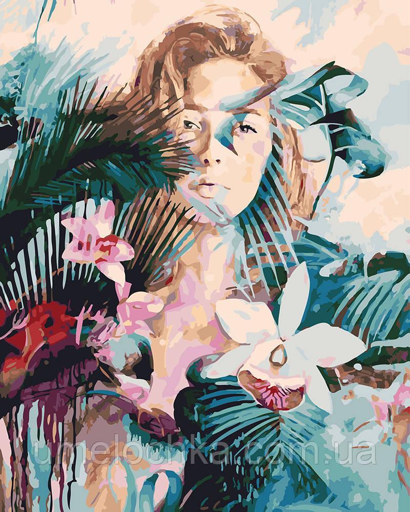 Картина по номерам Дикая орхидея 40 х 50 см (BRM25340)