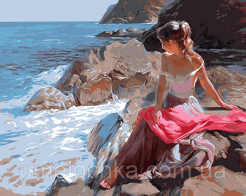 Картина по номерам На скалистом берегу 40 х 50 см (BRM8609)