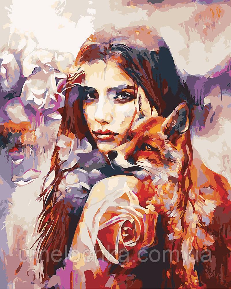 Картина по номерам Лисички 40 х 50 см (BRM4976)