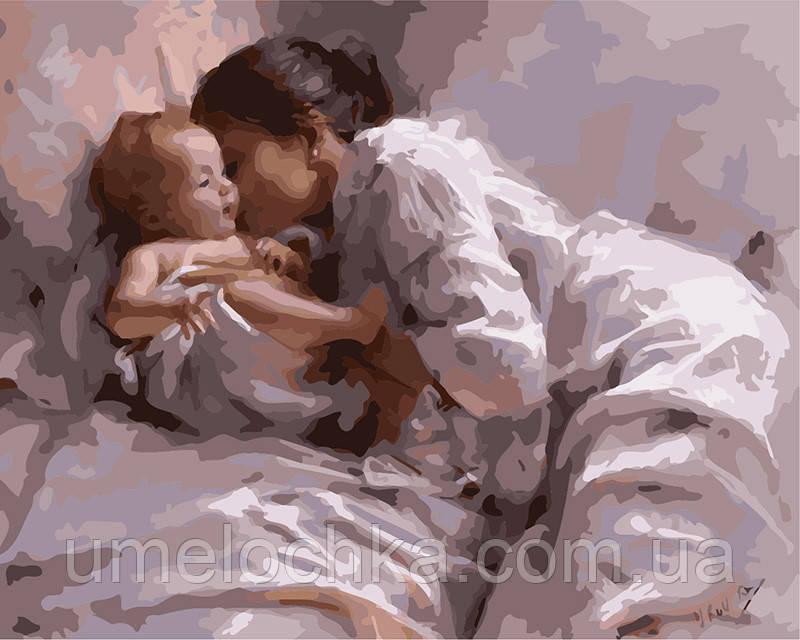 Картина по номерам Материнская любовь 40 х 50 см (BRM8128)