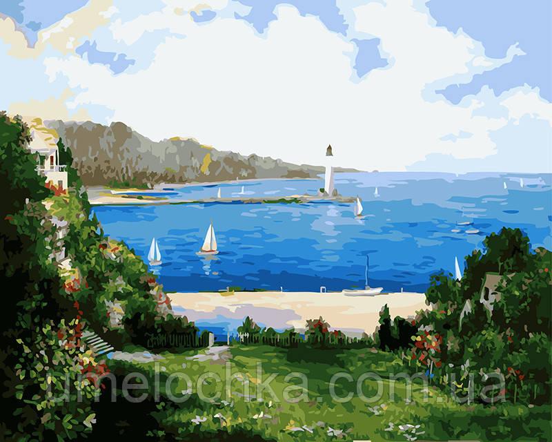 Картина по номерам Морской залив 40 х 50 см (BRM4577)