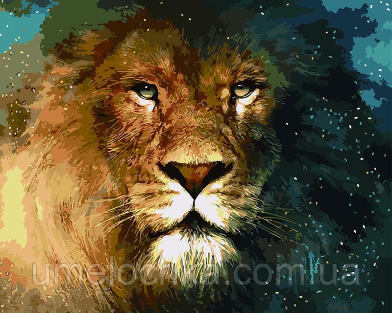 Картина по номерам Царь зверей 40 х 50 см (BRM5288)