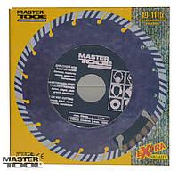 """Диск алмазный 115 мм """"segmented turbo"""" MasterTool 19-1115"""