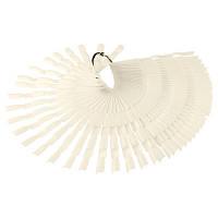 Матовый тройной веер для образцов лака на 150 ногтей