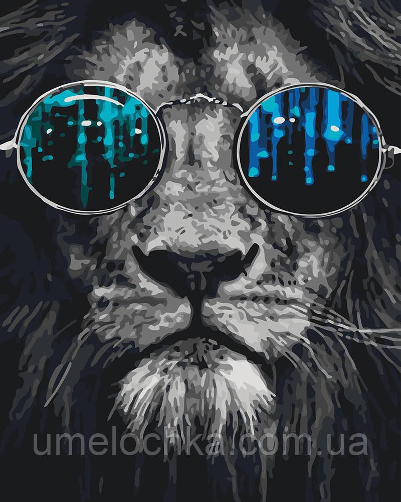 Картина по номерам Космический лев 40 х 50 см (BRM26783)
