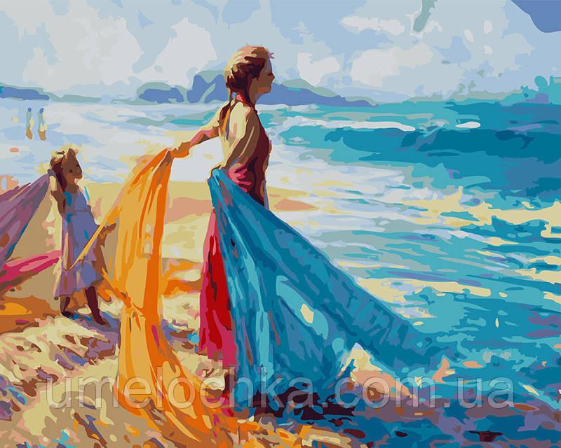 Картина по номерам На берегу океана 40 х 50 см (BRM27222)
