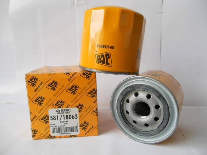 581/18063 фильтр масла JCB